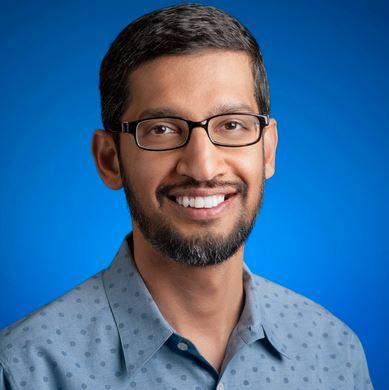 Il CEO di Google Sundar Pichai